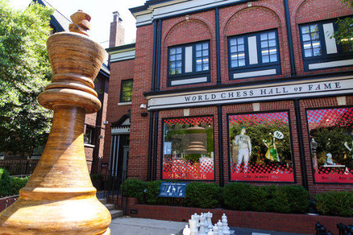 The World Chess Hall of Fame in St. Louis, Missouri, USA.