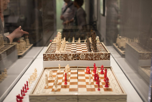 An Exhibition at The World Chess Hall of Fame in St. Louis, Missouri, USA.