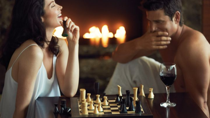 A Couple Play Chess