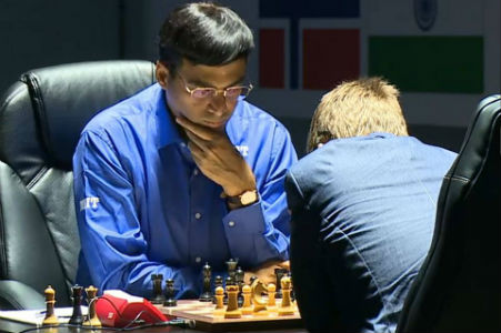 Carlsen vs. Anand 2014 World Chess Championship
