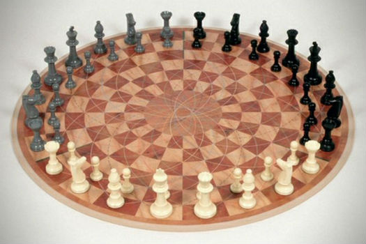 3 Man Chess Set