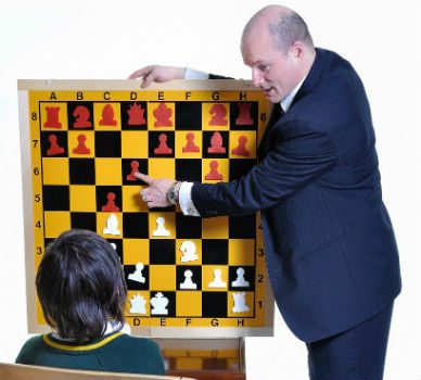 Chess Coach and a Student
