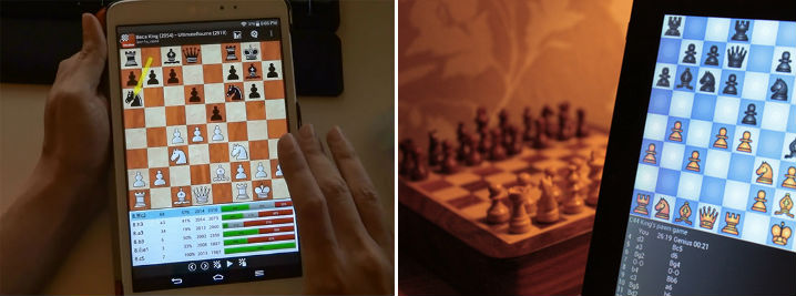 Chess Online on Cell Phones and Tablets
