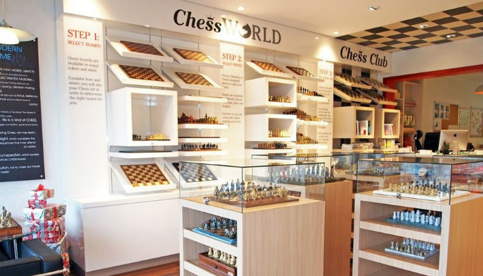 Chess World Chess Shop. Melbourne, Australia