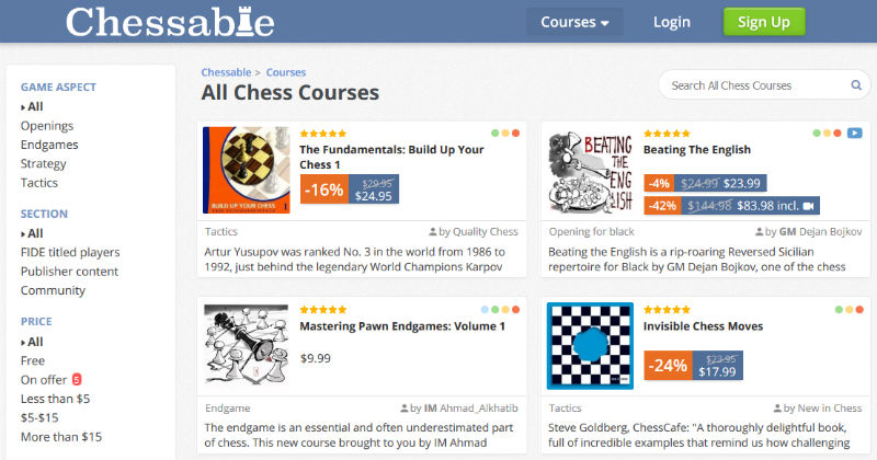 Chessable Courses