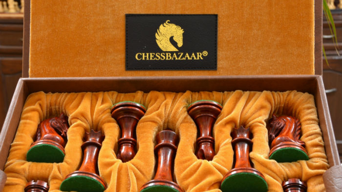 Chessbazaar Chess Box with Chess Pieces