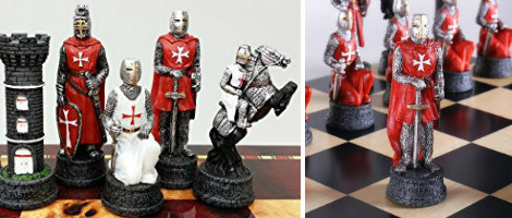 Medieval Crusades Chess Set