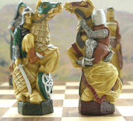 The Crusades Chess Set – SAC Hand Decorated
