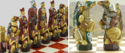 The Crusades Chess Set - SAC