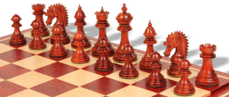 Cyrus Staunton Deluxe Chess Set