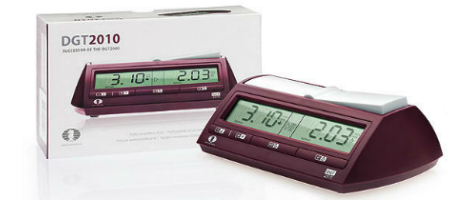 DGT 2010 Digital Chess Clock With Box