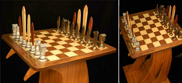 These Elegant Chess Tables Will Set You Apart from the Crowd