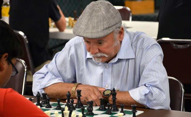 A chess game from the July Blitz tournament at the Denver Chess Club