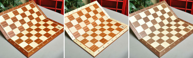 Design Your Own House of Staunton Deluxe Tournament Combo Folding Chessboards