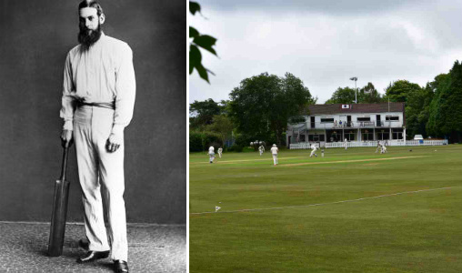 Downend Cricket Club & Dr. W.G. Grace – one of the greatest cricket players of the 19th century