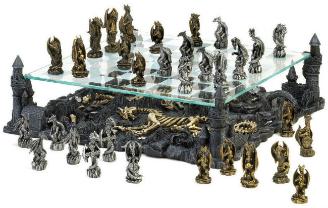 The 3D Dragon Chess Set