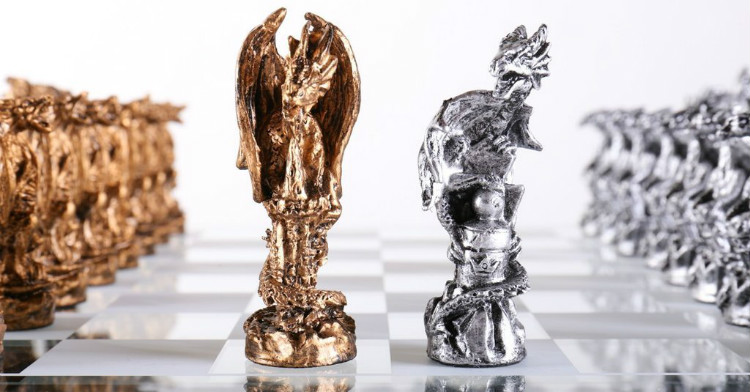 The Most Impressive Dragon Chess Set