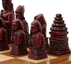 Egyptian Chess Pieces by Berkeley