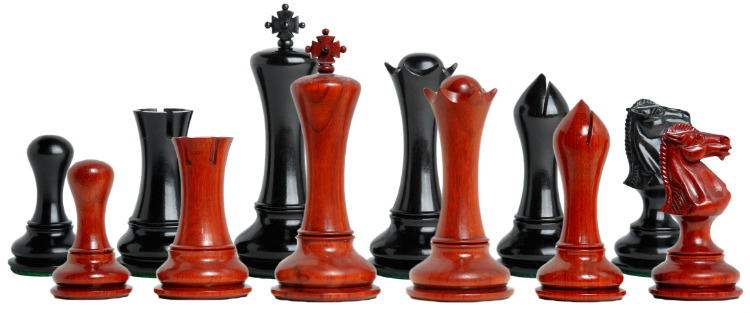 The Empire Series Prestige Chess Pieces
