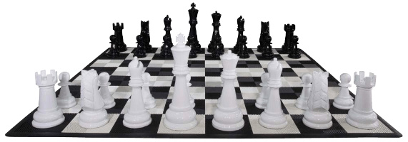 Fiberglass Giant Chess Set