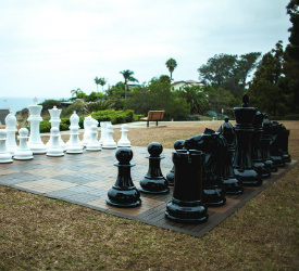 MegaChess Fiberglass Giant Chess Set