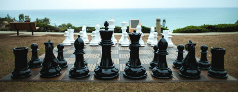 MegaChess 48 Inch Fiberglass Giant Chess Set