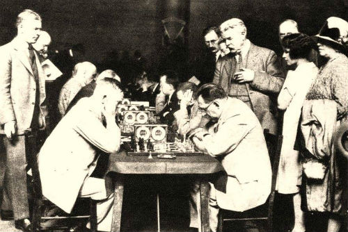 The First Chess Olympiad, 1927