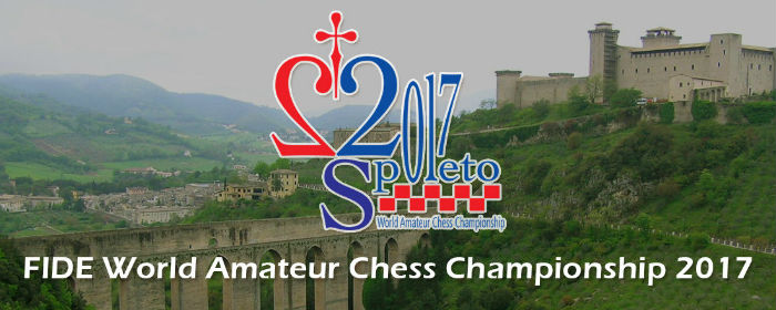FIDE World Amateur Chess Championship in Spoleto, 2017