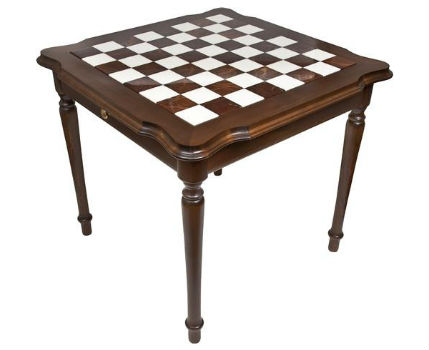 Genuine Italy Alabaster Chess Table