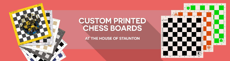 Custom Printed Chessboards Banner