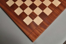 Sapele & Maple Drueke Traditional Chess Board