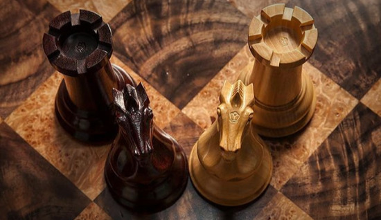 The Original 1849 Staunton Series Luxury Chess Pieces