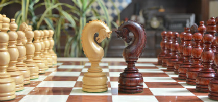 The Luxury Handcrafted Tower Series Chess Pieces