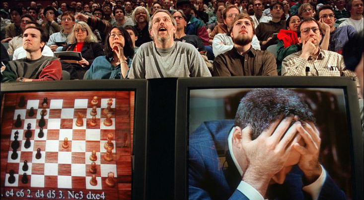 Garry Kasparov VS. The Chess Computer Deep Blue