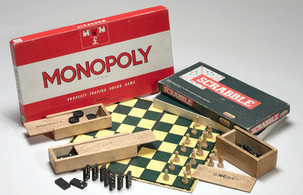 Monopoly, Scrabble and chess