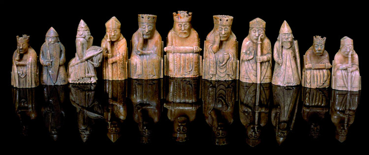 Isle of Lewis Chess Set Pieces