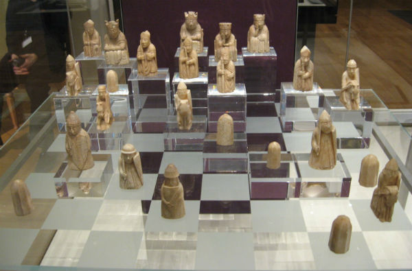 The Isle of Lewis Chess Pieces at The British Museum.
