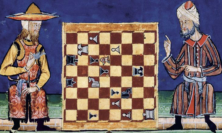 A Jew And A Muslim Plays Chess