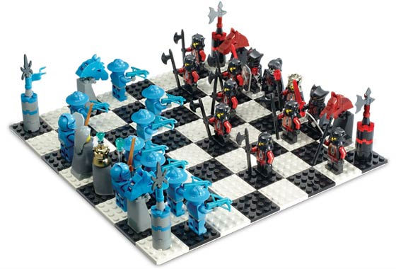 LEGO Knights Kingdom Chess Set