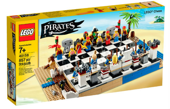 LEGO Pirates Chess Set