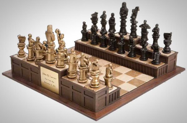 cool and opulent wood chess pieces.  Approach the Bench Legal Chess Set 6 Remarkably Cool Unique Sets 2018 Reviews