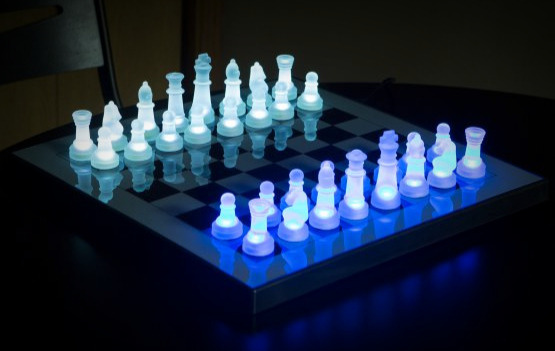 enjoyable ideas cheap chess sets. The LumiSource LED Glow Chess Set 6 Remarkably Cool  Unique Sets 2018 Reviews