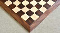 "Luxury Chess Board Sheesham Wood 21"" - 56 mm squares"