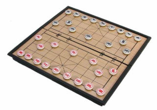 "7 3/4"" Magnetic Chinese Chess Set"
