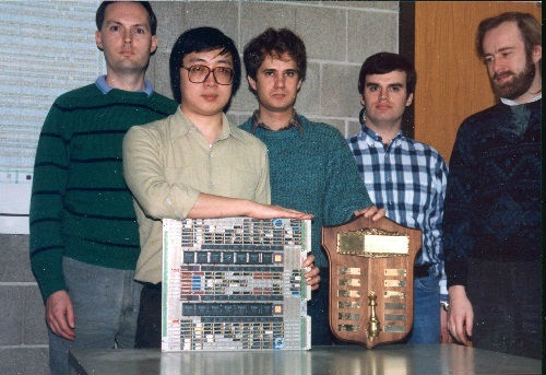 "The IBM team which designed ""Deep Thought"""