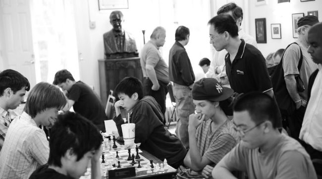 A Tournament at the Marshall Chess Club