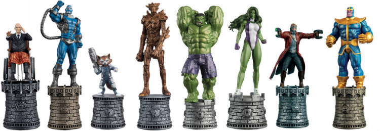 Marvel Chess Collection Pieces