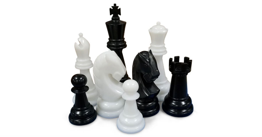 MegaChess 26-Inch Perfect Giant Chess Set