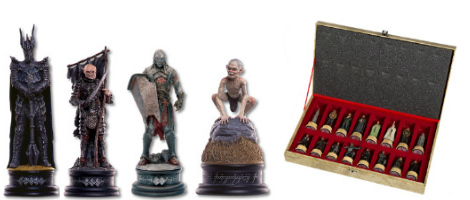 The Battle for Middle Earth Chess Set Pieces