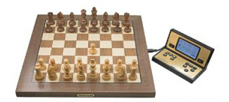 Millennium Electronic Chess Board, Pieces & Clock